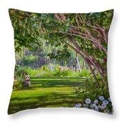 Secret Garden Throw Pillow by Omaste Witkowski
