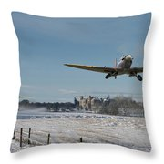 Section Scramble Throw Pillow by Pat Speirs