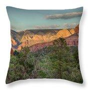 Sedona Beauty Throw Pillow by Judi FitzPatrick