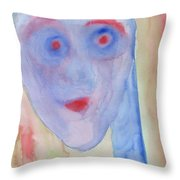 See right through me Throw Pillow by Hilde Widerberg