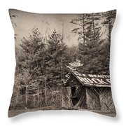 See Rock City  Throw Pillow by Debra and Dave Vanderlaan
