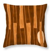 Seed Of Learning No. 1 Throw Pillow by Carol Leigh