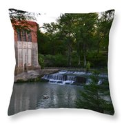 Seguin Tx 03 Throw Pillow by Shawn Marlow