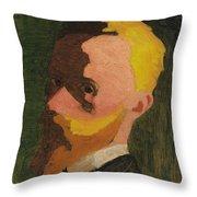 Self Portrait Throw Pillow by Edouard Vuillard