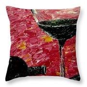 Sensual illusions  Throw Pillow by Mark Moore