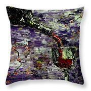 Sensual Pleasures  Throw Pillow by Mark Moore