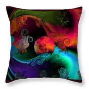 Seperation And Individuation Throw Pillow by Claude McCoy