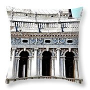 Serenade In Venice Throw Pillow by Ira Shander