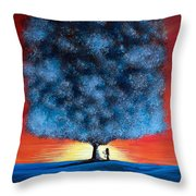 Serengeti Fairy By Shawna Erback Throw Pillow by Shawna Erback