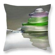 Serenity Throw Pillow by Barbara McMahon