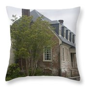 Sessions House Yorktown Throw Pillow by Teresa Mucha