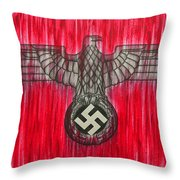 Seven Deadly Sins - Pride Throw Pillow by Lynet McDonald