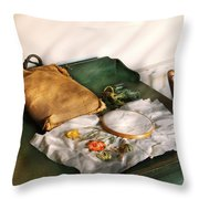 Sewing - Needle Point Throw Pillow by Mike Savad