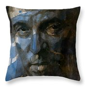 Shackled And Drawn Throw Pillow by Paul Lovering