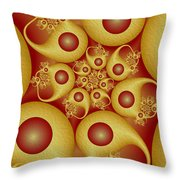 Shapes Throw Pillow by Gabiw Art