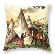 Sheboygan Boots Throw Pillow by Gary Grayson