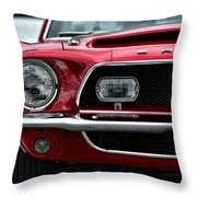Shelby Mustang Throw Pillow by Gordon Dean II