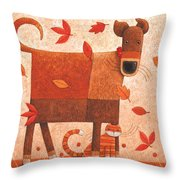 Shelter From The Storm Throw Pillow by Peter Adderley