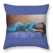 Sherry Throw Pillow by Jerry McElroy
