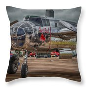 Shiny Mitchell Throw Pillow by Gareth Burge Photography