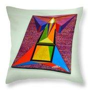 Shot Shift - Liberte 2 Throw Pillow by Michael Bellon