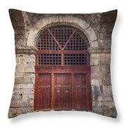 Side Amphitheatre 04 Throw Pillow by Antony McAulay