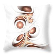 Sienna Creation Throw Pillow by Anastasiya Malakhova