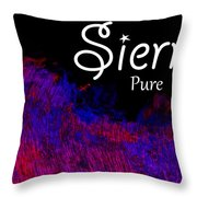 Sierra - Pure Throw Pillow by Christopher Gaston