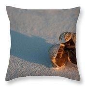 Silence Throw Pillow by Ralf Kaiser