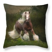 Simon And The Storm Throw Pillow by Fran J Scott