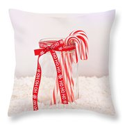 Simple Pleasures Throw Pillow by Kim Hojnacki