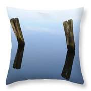Sky-Bound Throw Pillow by Luke Moore