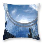 Skyscraper Throw Pillow by Michal Bednarek