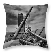 Skywalk Throw Pillow by Hugh Smith
