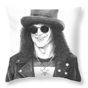 Slash Throw Pillow by Murphy Elliott