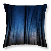 Sleepwalking... Throw Pillow by Nina Stavlund