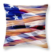 Slipping Away - D001883-a Throw Pillow by Daniel Dempster
