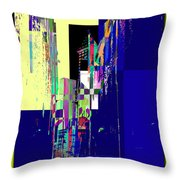 Smith Tower Throw Pillow by Tim Allen