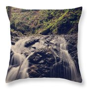 So Easy to Fall Throw Pillow by Laurie Search