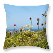 Soaring Beauty Throw Pillow by Lynn Bauer