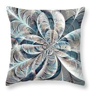 Soft Palette Throw Pillow by Anastasiya Malakhova