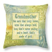 Soft Spa Mother's Day 2 Throw Pillow by Debbie DeWitt