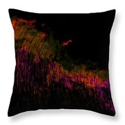 Solar Flare Throw Pillow by Christopher Gaston