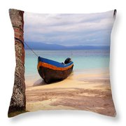 Solo Throw Pillow by Bob Hislop