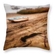 Someday My Ship Will Come In Throw Pillow by Bill Wakeley
