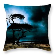 Something Wicked This Way Comes Throw Pillow by Shane Holsclaw