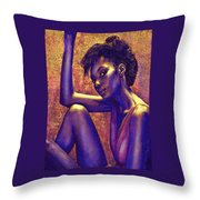 Sometimes I Imagine Throw Pillow by Jane Schnetlage