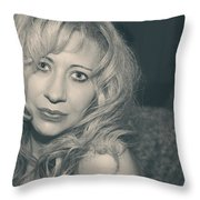 Sometimes It Hurts Instead Throw Pillow by Laurie Search
