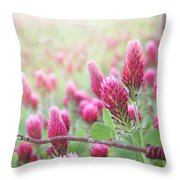 Somewhere Only We Know Throw Pillow by Amy Tyler