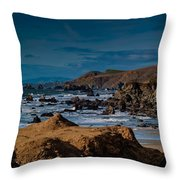 Sonoma Coast Throw Pillow by Bill Gallagher